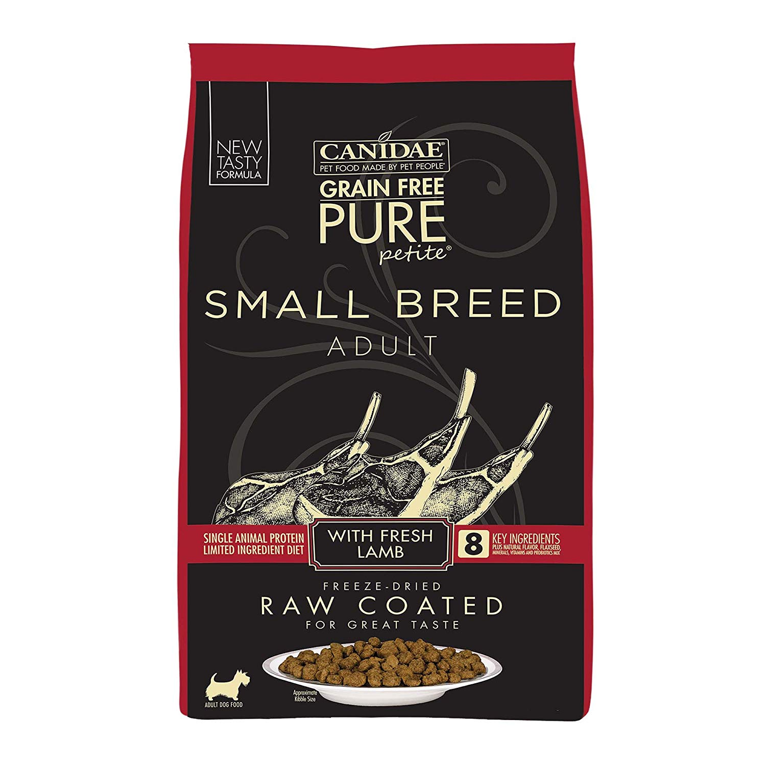 Canidae Grain Free Pure Petite Small Breed Raw Coated