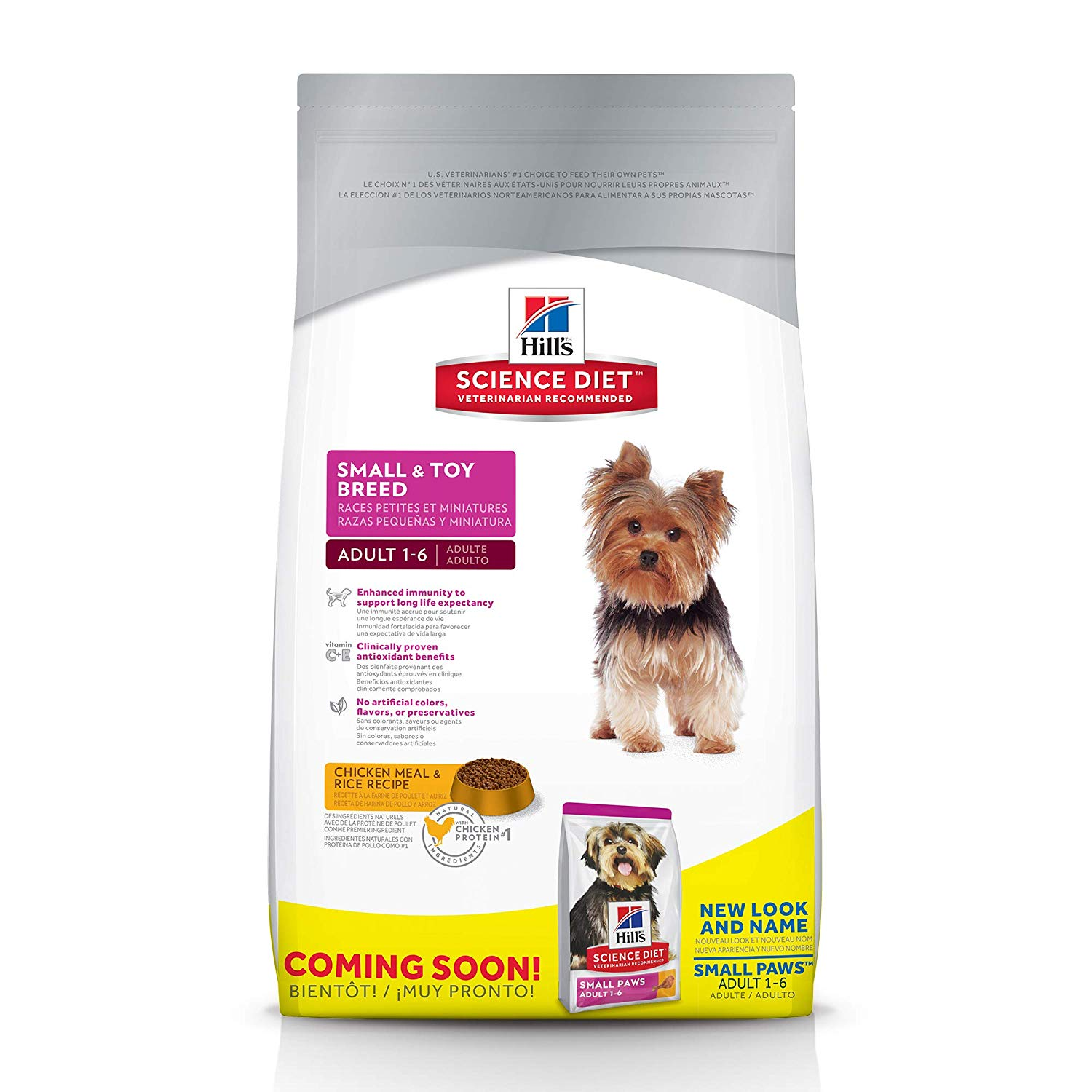 Hill's Science Diet Small and Toy Breed Dry Dog Food