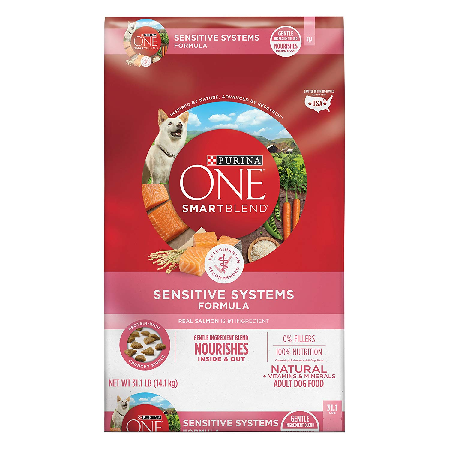 Purina ONE Smart Blend Natural Sensitive Systems Formula