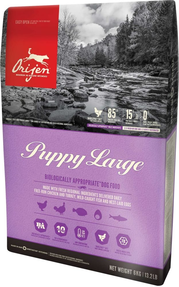 Orijen Dry Dog Food, Puppy Large